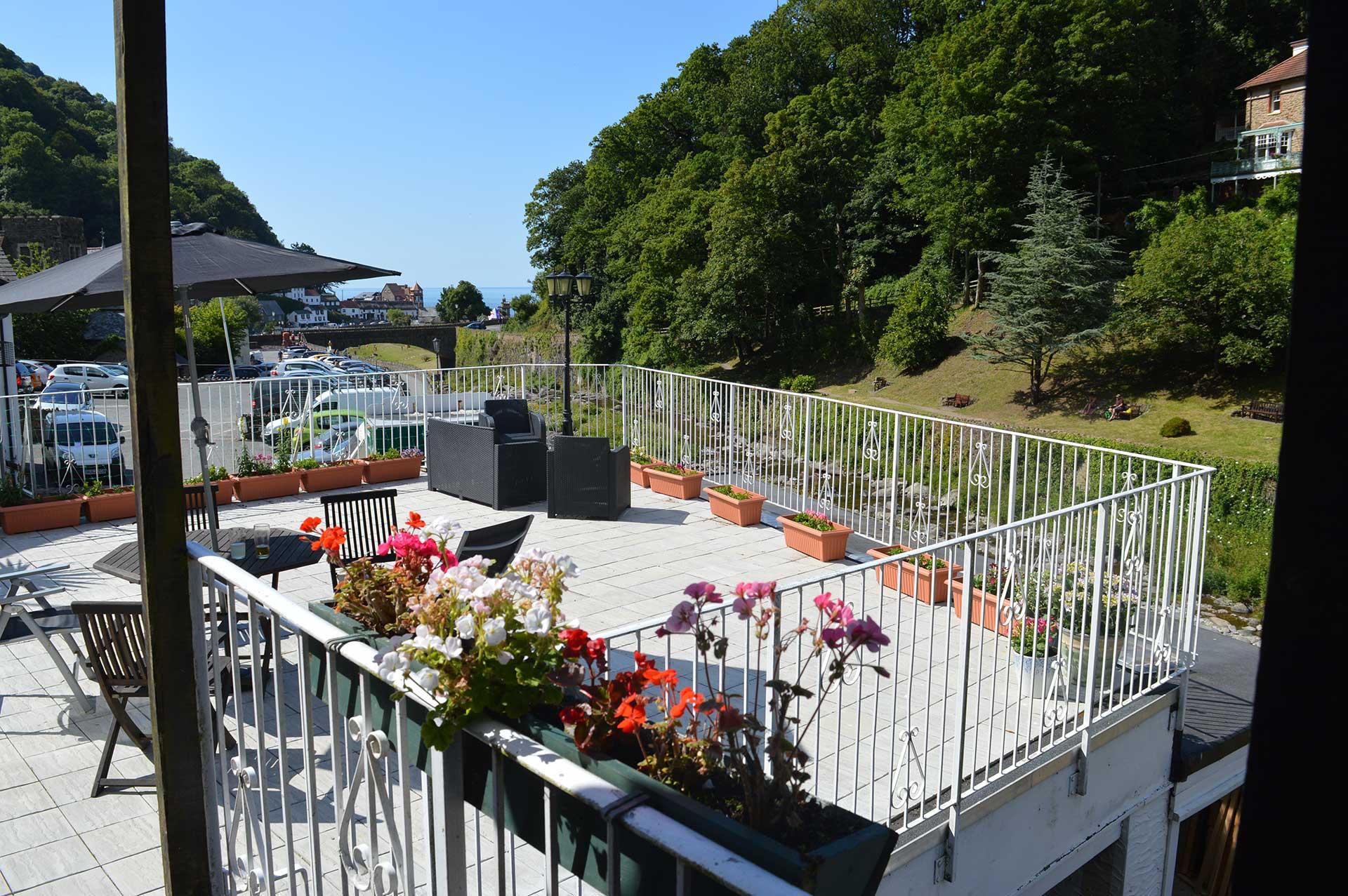 East Lyn House Terrace