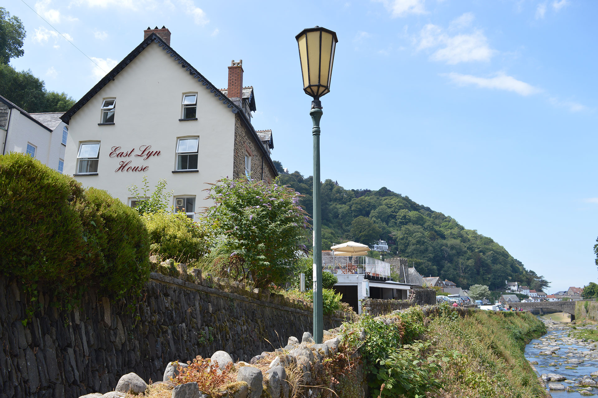 East Lyn House, Bed and Breakfast. Lynmouth, Devon