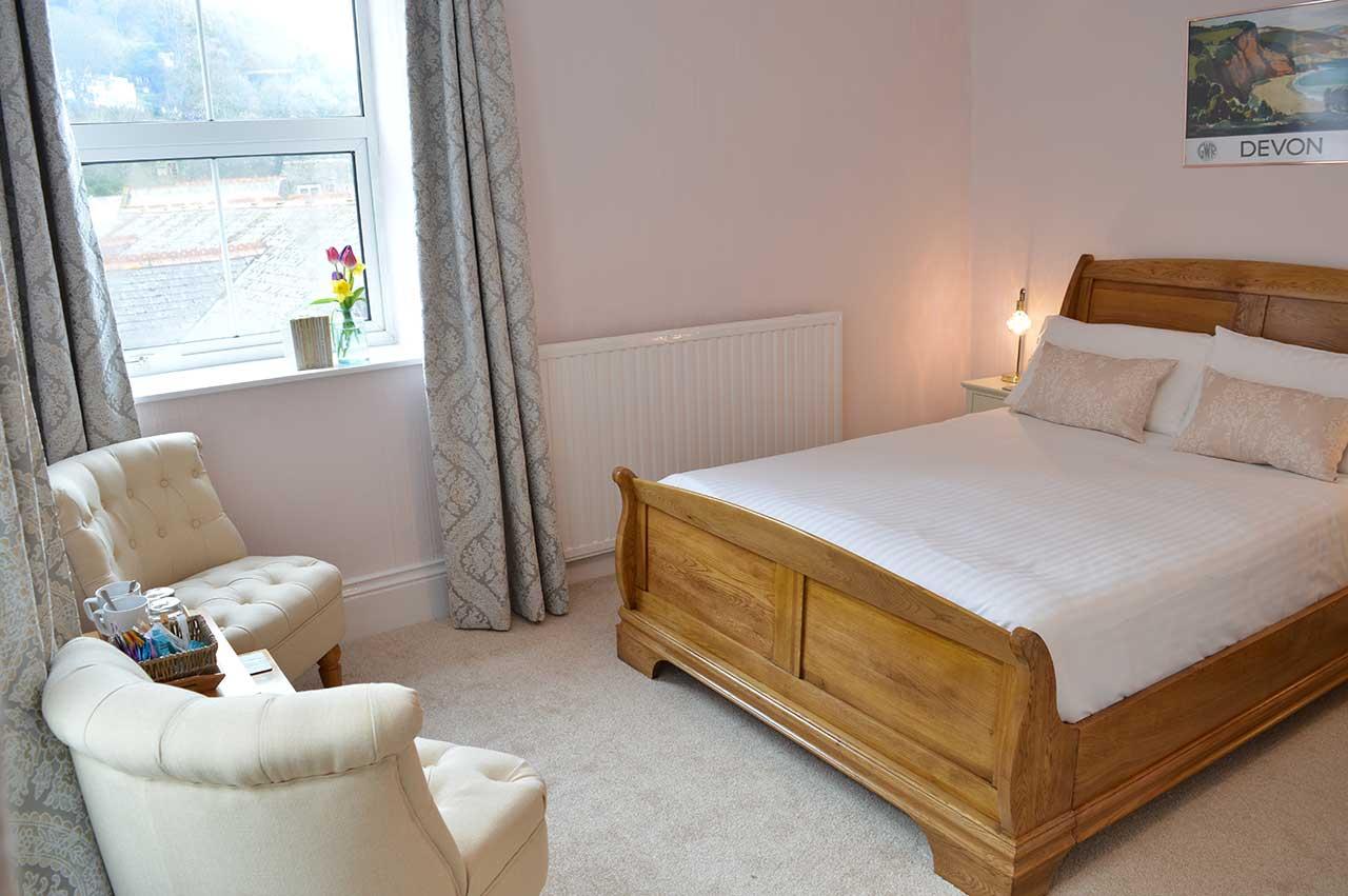 Bedroom Three, East Lyn House in Lynmouth, Devon