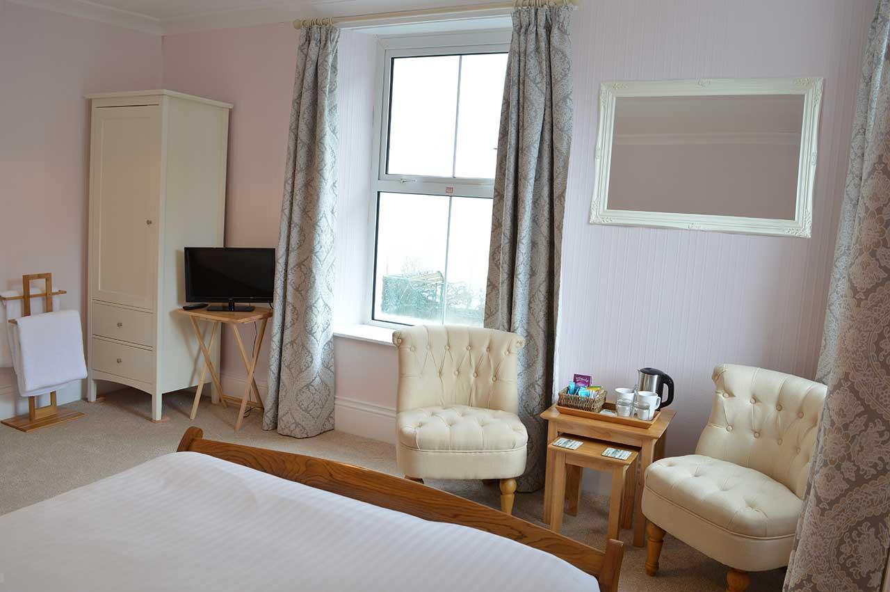 Bedroom Three in East Lyn House, Lynmouth, Devon