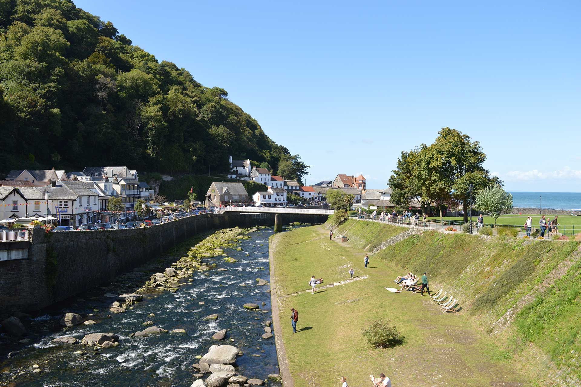 East Lyn River, Lynmouth