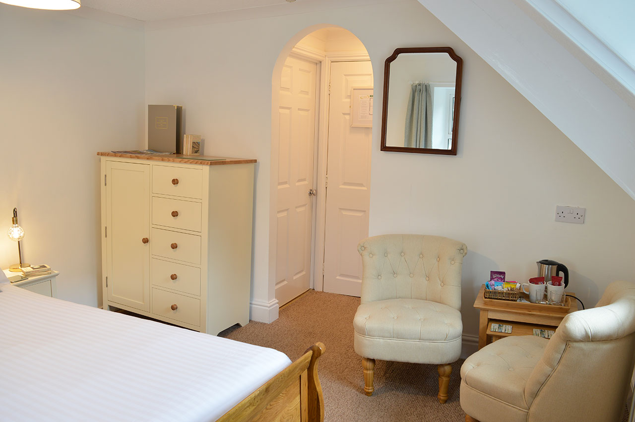 East Lyn House, Bedroom Five, Lynmouth